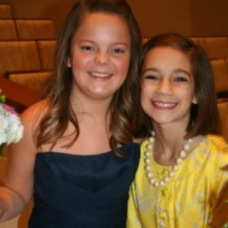 My friend Bailey and me '11